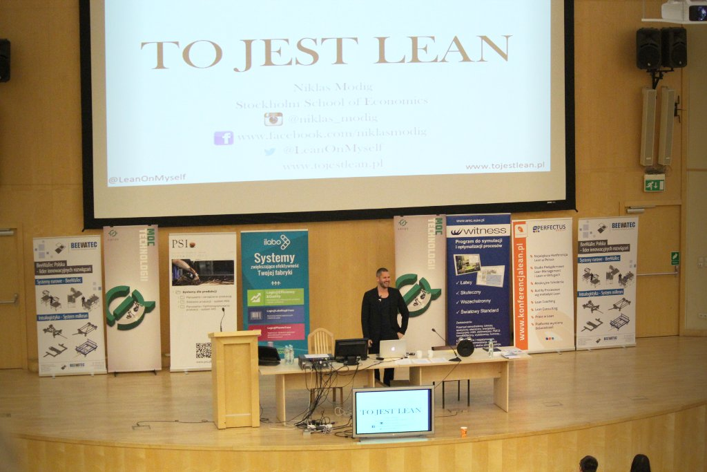 Niklas Modig: To jest Lean