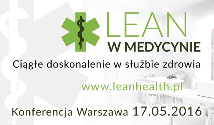 II Konferencja Lean wMedycynie