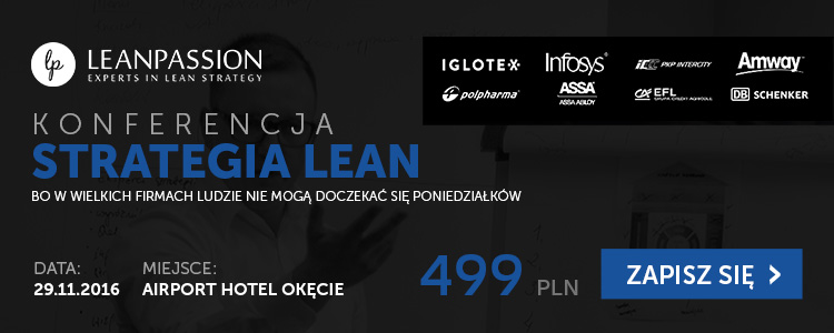 Konferencja Strategia Lean