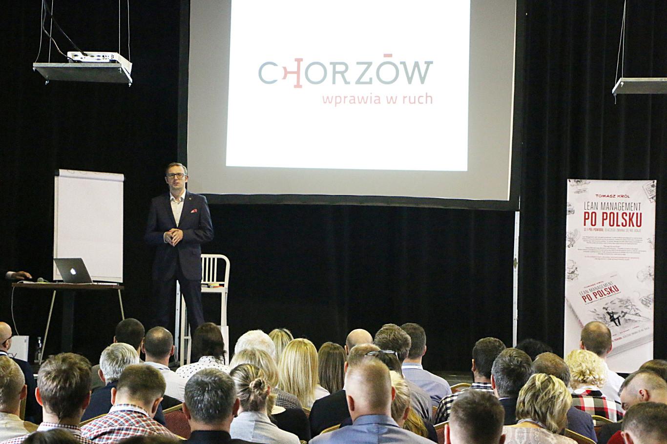 Miasto Chorzów gospodarzem konferencji Lean