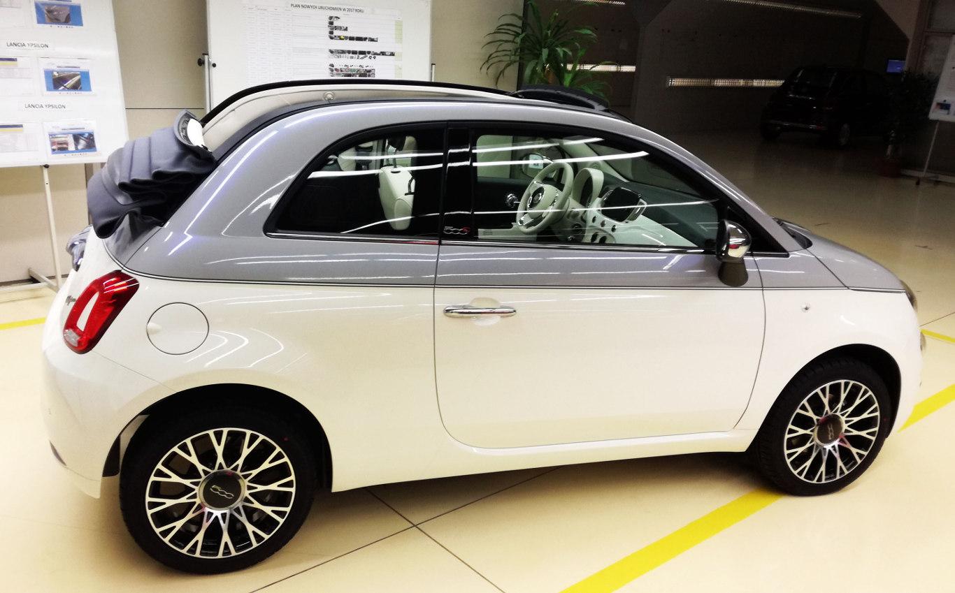 Fiat 500 wymaga montowania wielu opcji na jednej linii