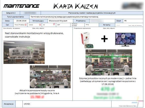 10 zasad Kaizen wprodukcji