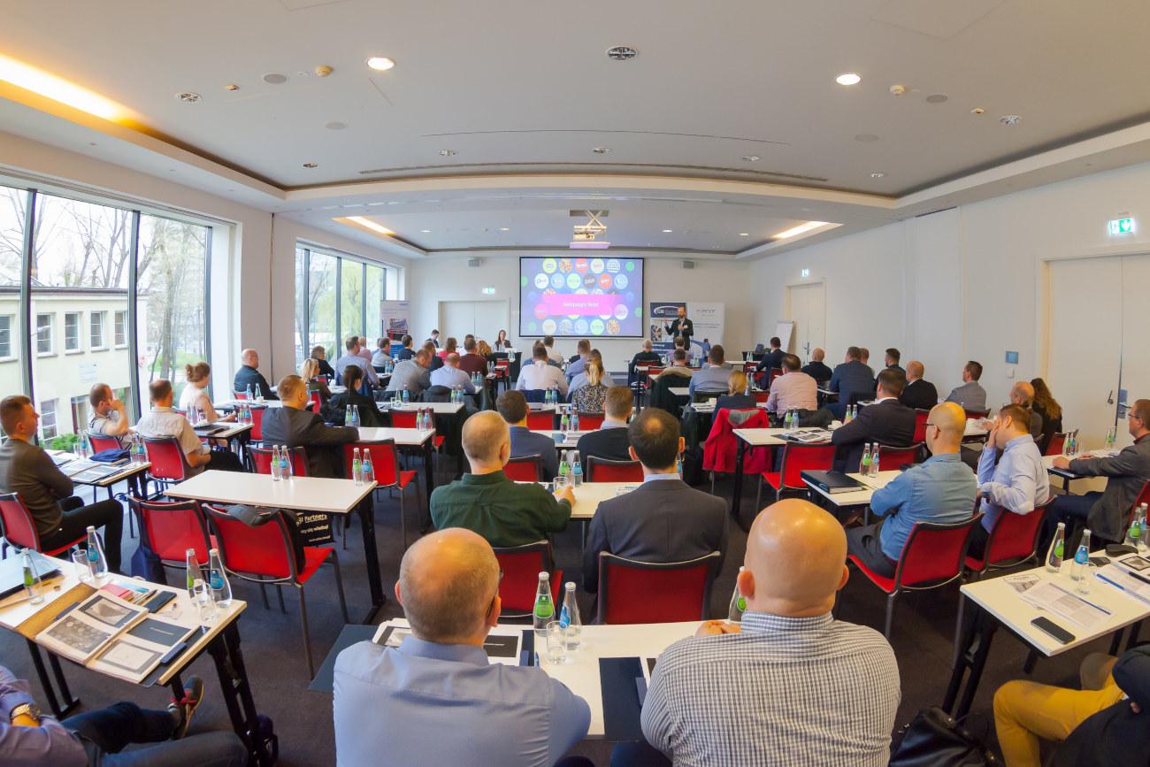 WCM aLean wzakładzie ina konferencji GBI