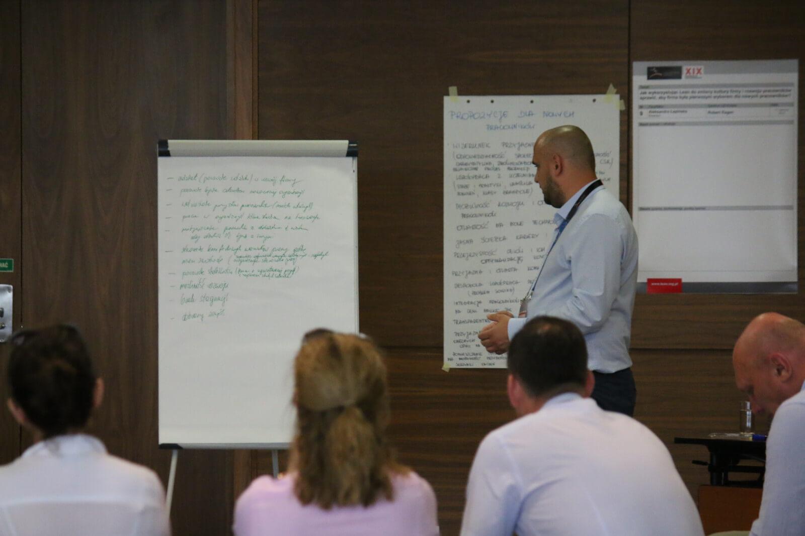Niezaangażowany menedżer - jeden ztematów na Lean Management