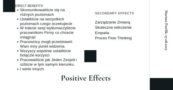 Proces myślenia asamotne wdrożenie Lean