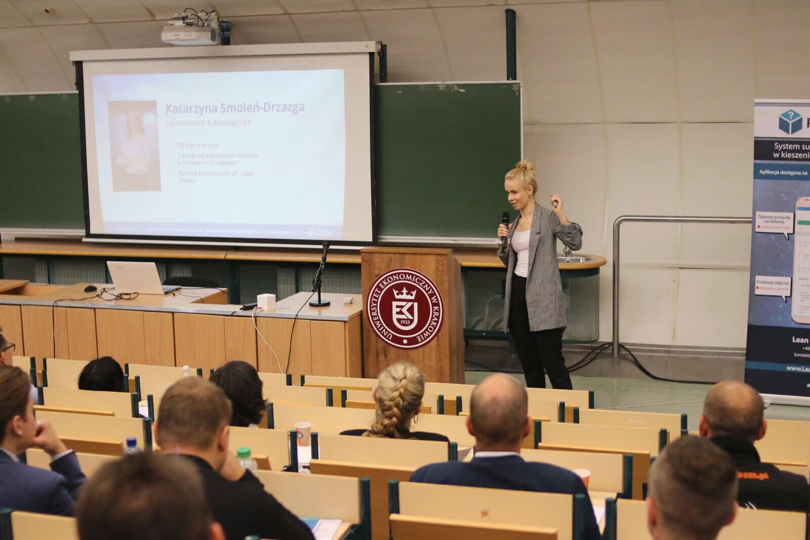 O user Experience na konferencji Produkcja Lean
