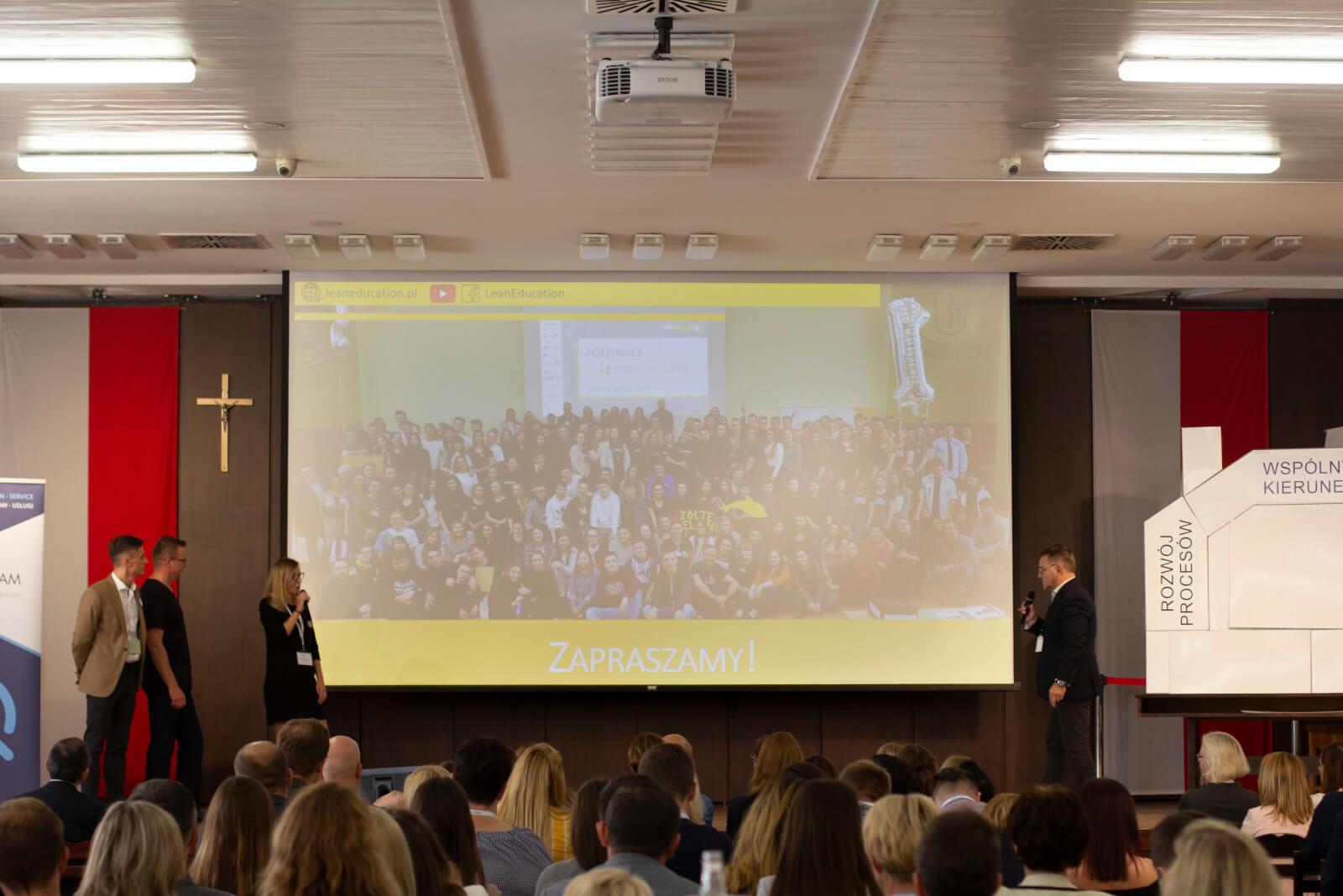 Prezentacja programu Młody Lean Lider wGdańsku