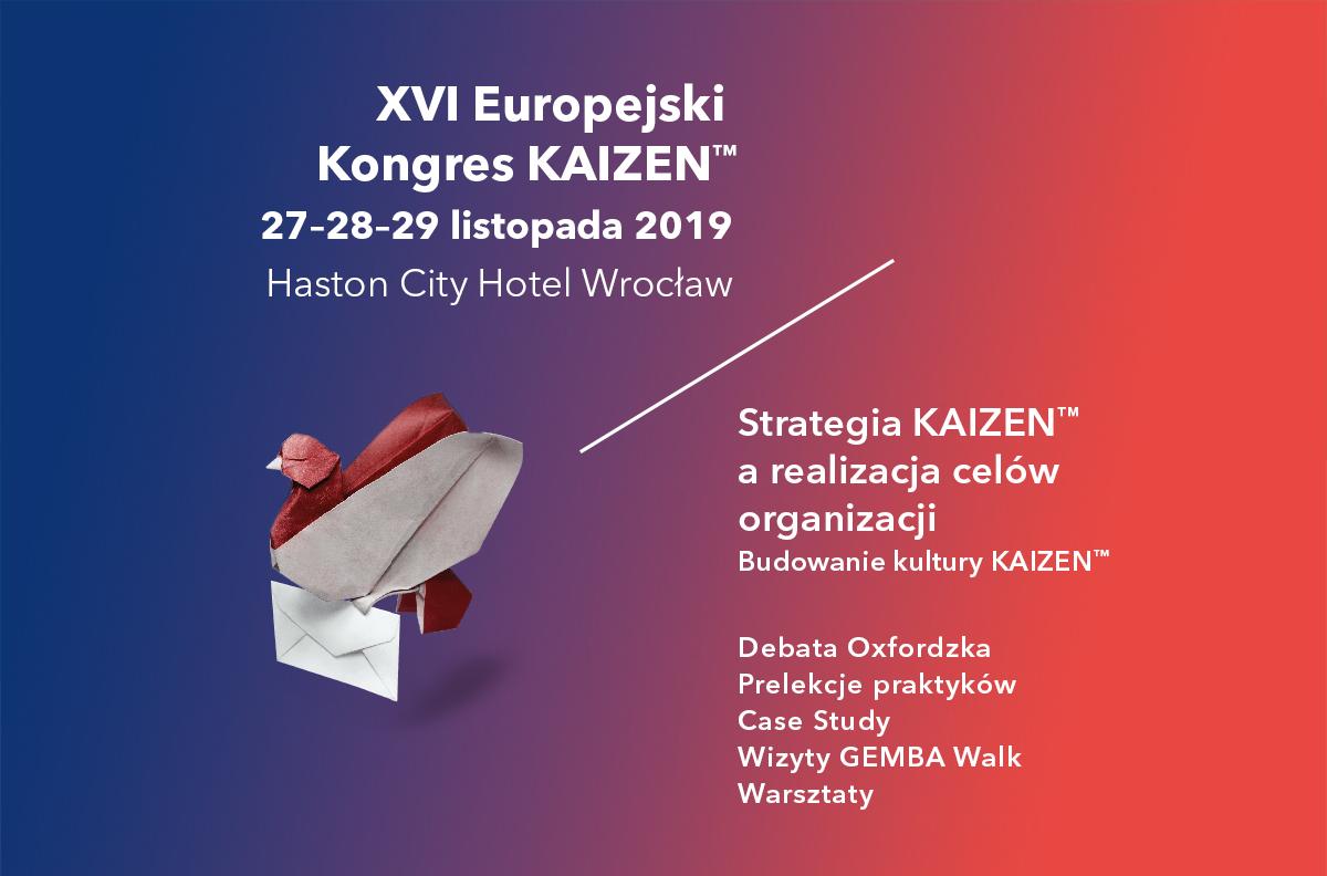 Zapowiedź Europejski Kongres Kaizen 2019