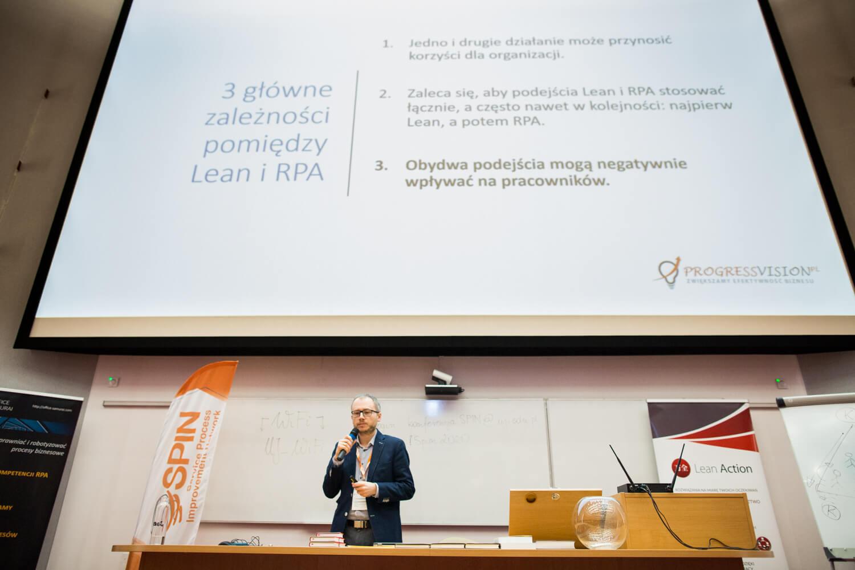 Maciej Tyburczy, Relacja zkonferencji SPIN 2020