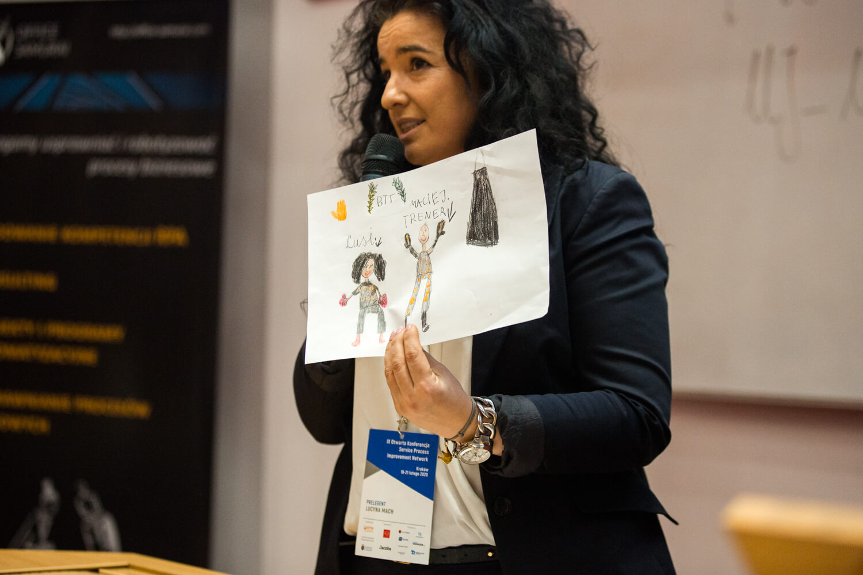 Lucyna Mach, Relacja zkonferencji SPIN 2020