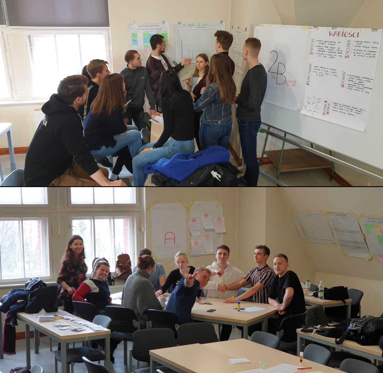 Młodzież wkolejnej edycji Młodego Lean Lidera - lekcji przedsiębiorczości online