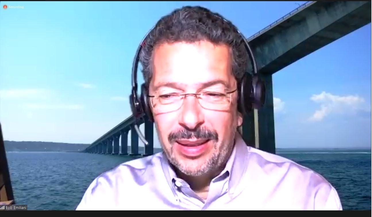 Bob Emiliani połączył się zPolską online, jak kilka lat temu