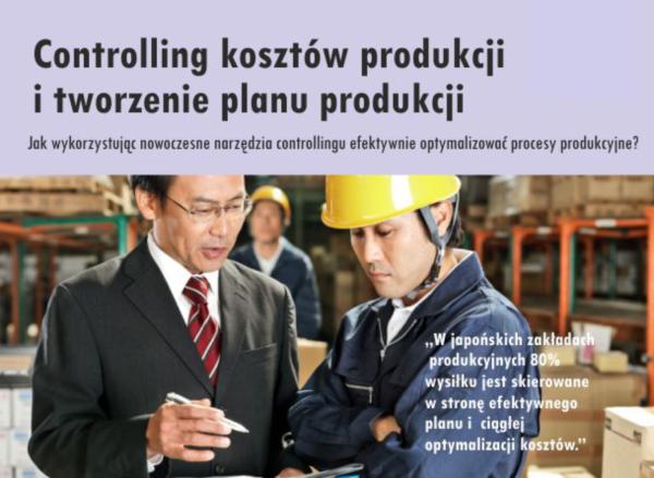 Controlling kosztów produkcji