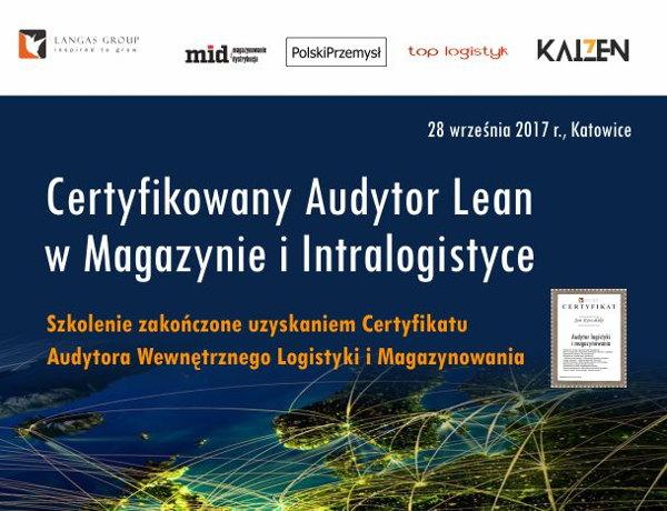 Certyfikat audytor lean
