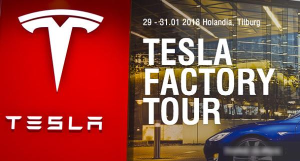 Wizyta w fabryce Tesli
