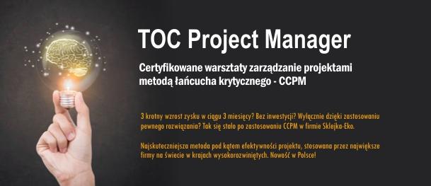 Szkolenie TOC Project Manager
