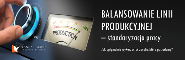 Szkolenie na temat balansowania linii produkcyjnej