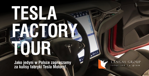 Tesla Factory Tour - wyjazd do fabryki Tesli