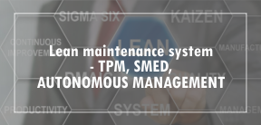 Lean maintenance system