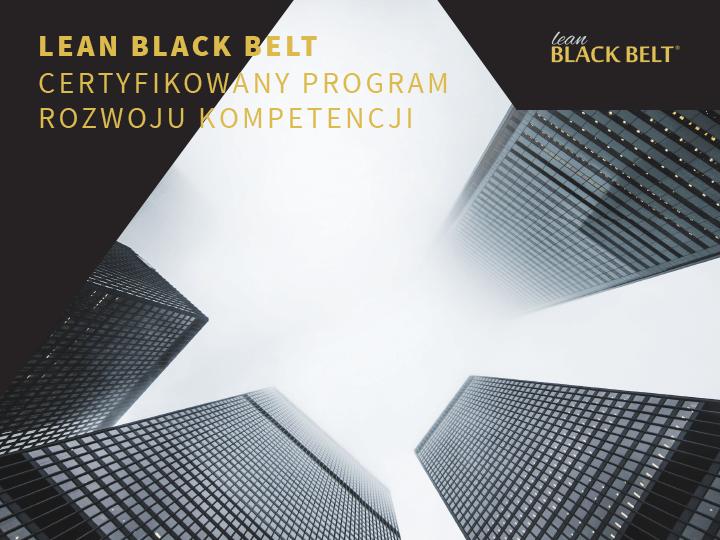 Szkolenie Lean Black Belt - program certyfikacyjny