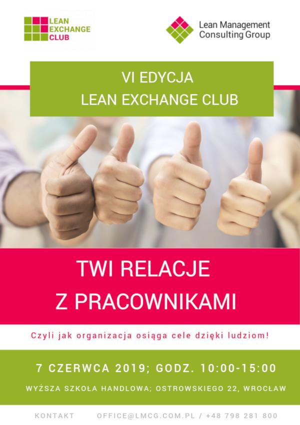 Lean Exchange Club w czerwcu 2019