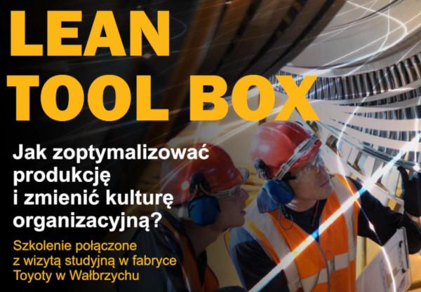Szkolenie Lean Tool Box - sprawne posługiwanie się narzędziami Lean