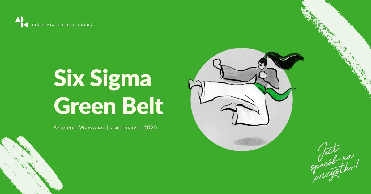 Szkolenie Six Sigma Green Belt Warszawa ABK