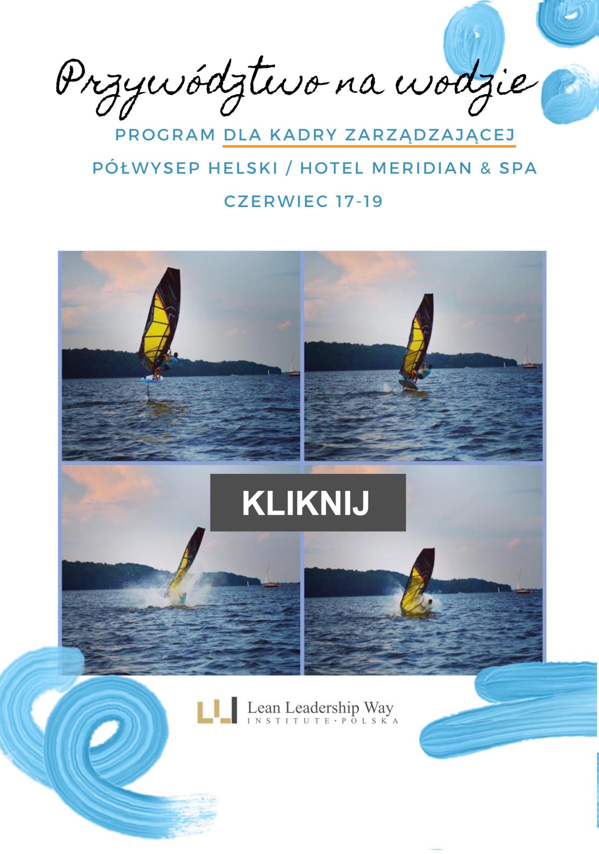 Szkolenie przywództwo na wodzie - dla zarządzających